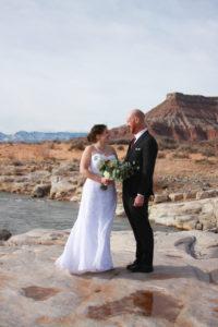 Zion National Park Wedding - Virgin River Wedding Photos